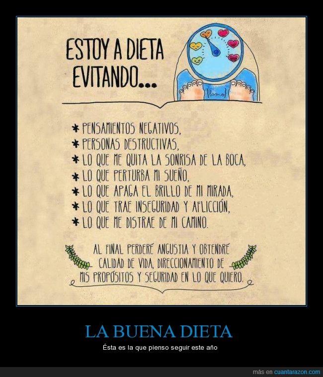 comer,comida,dieta,felicidad,negatividad,perder,proposito,sonrisa