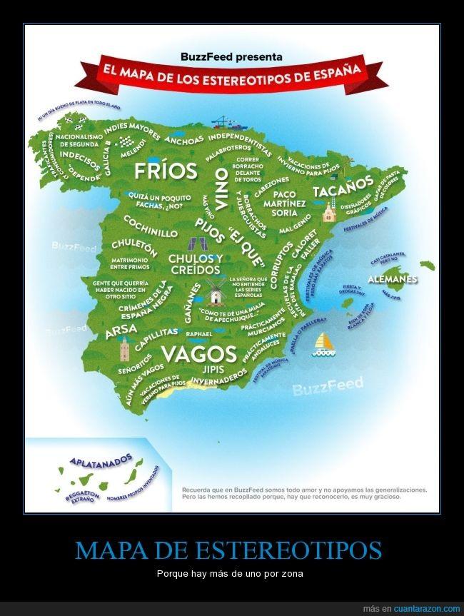 comunidad,España,estereotipo,mapa,zona