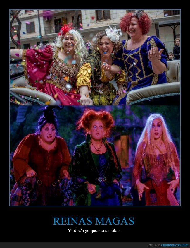 brujas,clavadas,hocus pocus,magas,reinas,reinas magas,reyes magos