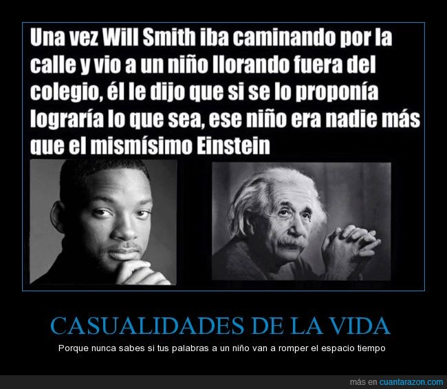Albert Einstein,llorar,mentira,mismisimo,niño,troll,Will Smith