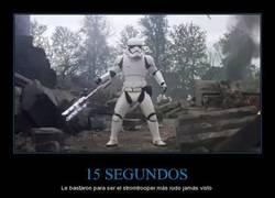 Enlace a Este stormtrooper si que intimida