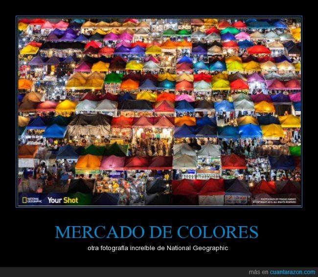 colores,increíble,mercado,nat geo,National Geographic,tiendas,toldos