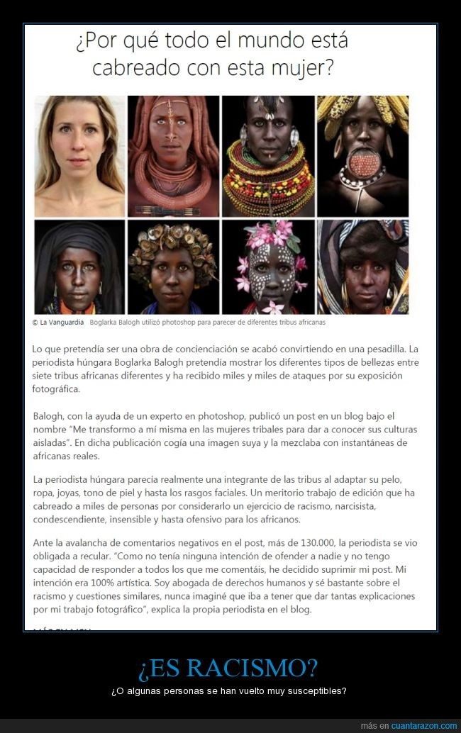 África,internet,mujeres,photoshop,quejas,tribu