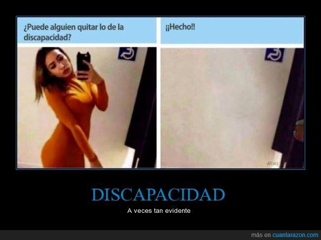 chica,discapacidad,photoshop,selfie