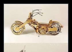 Enlace a Brutal reciclaje de relojes en forma de motocicletas
