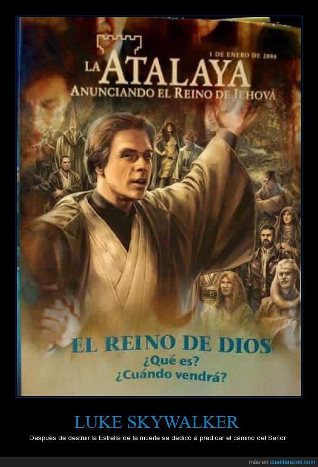aliens,la fuerza,Luke Skywalker,predicar,revista atalaya,star wars,testigos de jehová