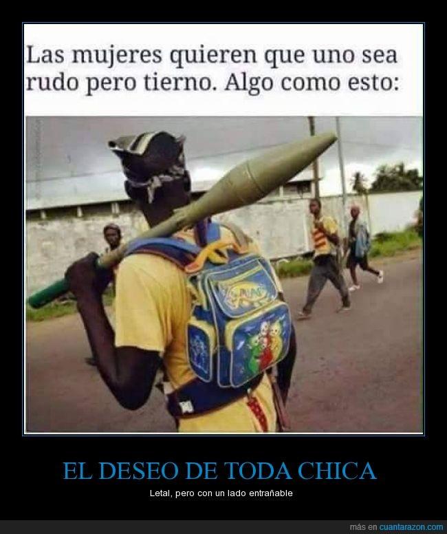 amor,bazooka,hombre,love,mujer,rudo,teletubbies,tierno