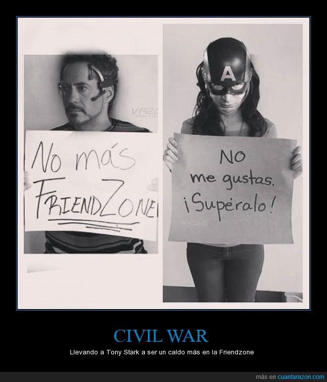 capitán america,chris evans,civil war,friendzone,iron man,robert downey jr