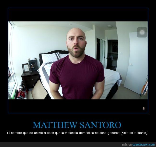 abuso,género,Matthew Santoro,pareja,relación,respeto,video,violencia