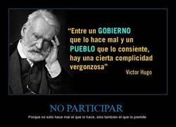 Enlace a Deberíamos avergonzarnos como dice Víctor Hugo