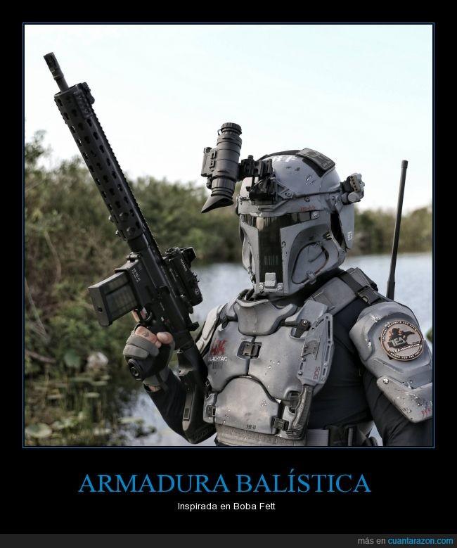 armadura,armas,boba fett,Star Wars