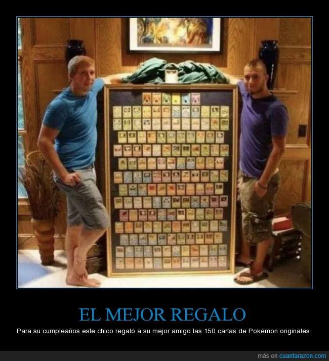 amigo,amistad,carta,coleccion,enmarcada,marco,mejor,pokemon,regalo,todos