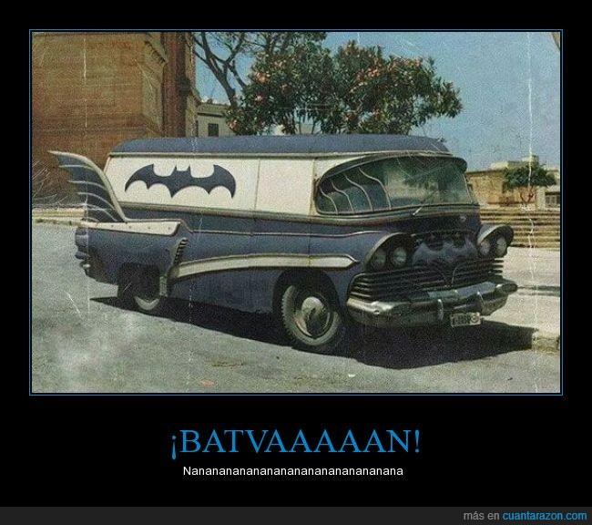 batman,camioneta,coche,combi,furgoneta,retro,van