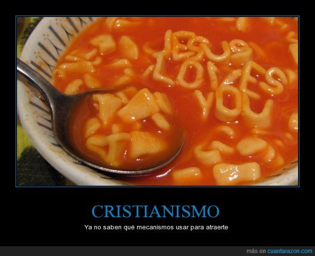 cristiano,jesus loves you,letras,sopa