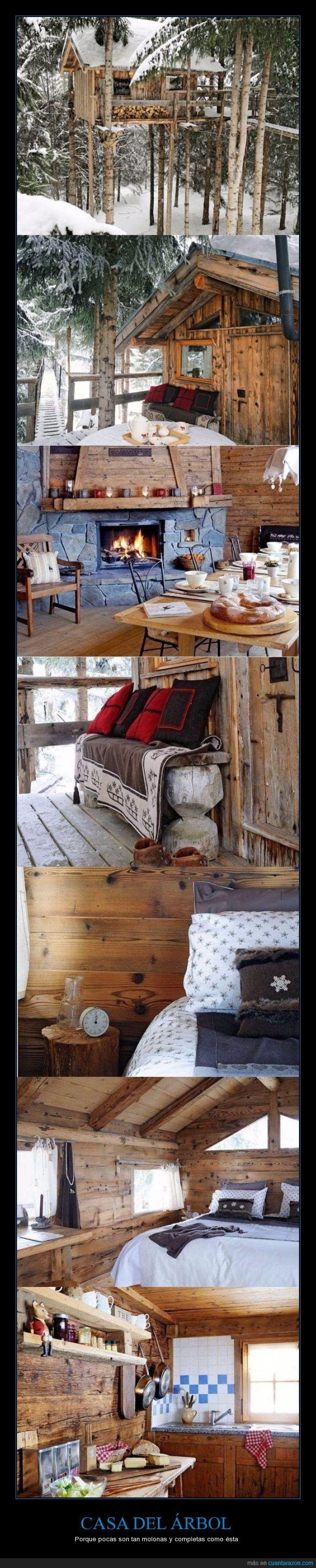 acomodada,arbol,cama,casa,frio,nieve,ventana