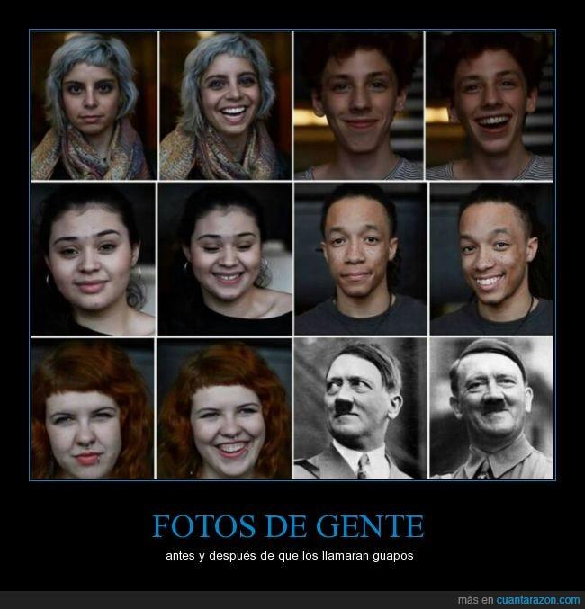 ay que mono él,dictador,fotos,guapo,Hitler,mostachín,segunda guerra mundial,sonrisa