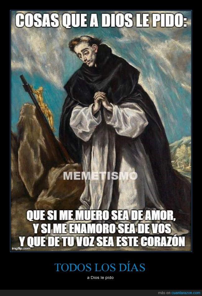 a dios le pido,amor,canción,cura,dios,Juanes,monje,pedir