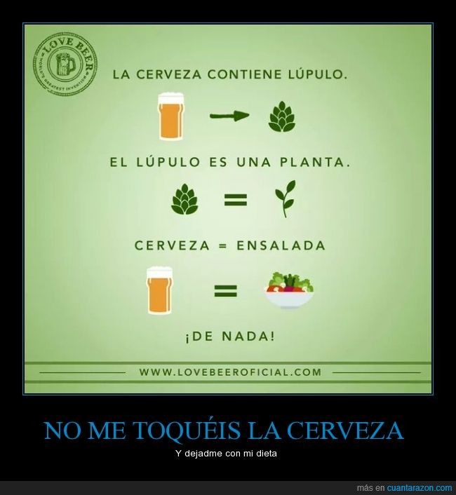 cerveza,dieta,ensalada,ensaladita sana,lupulo,planta