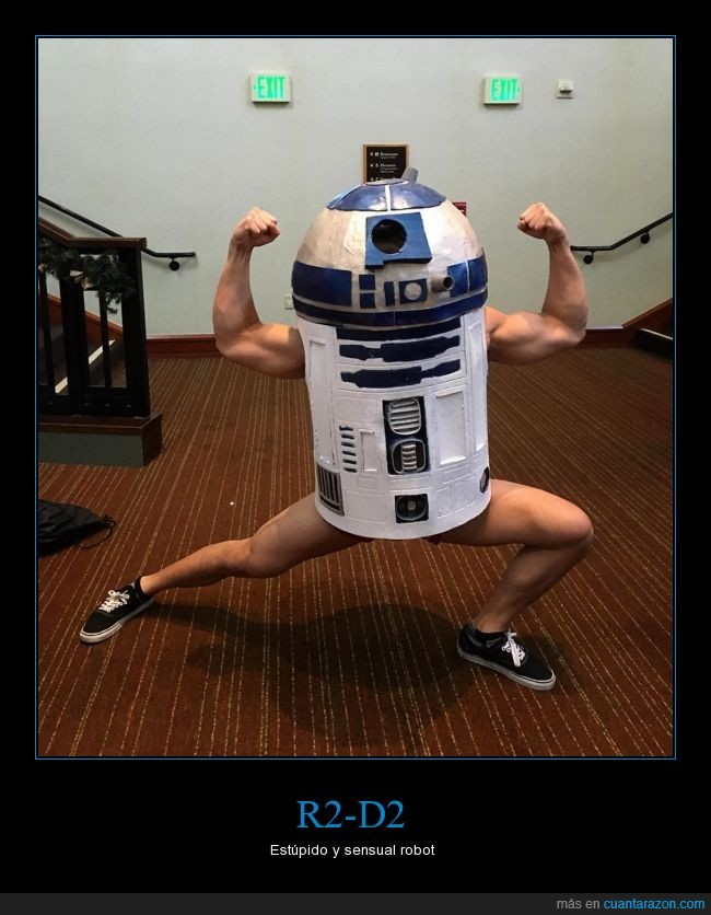 cosplay,fuerza,piertas,pose,r2d2,star wars