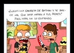 Enlace a Tan fan de Batman no serás, oye...