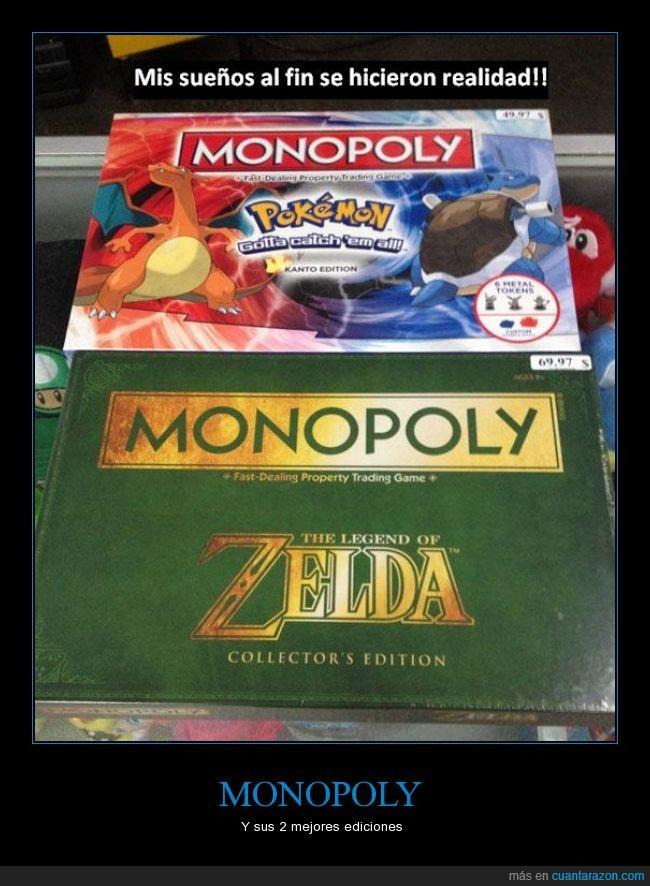 edicion,especial,genial,kanto,monopoly,pokemon,zelda