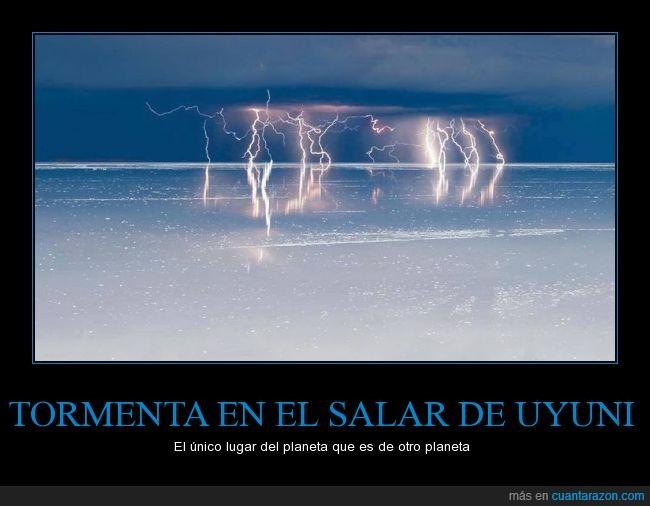 naturaleza,planeta,rayo,salar,tormenta,Uyuni