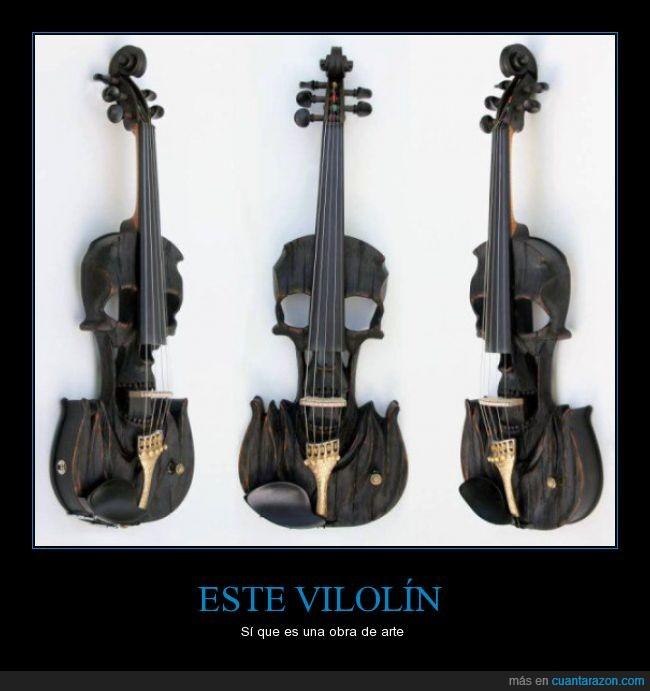 arte,calavera,cara,madera,tallado,violín