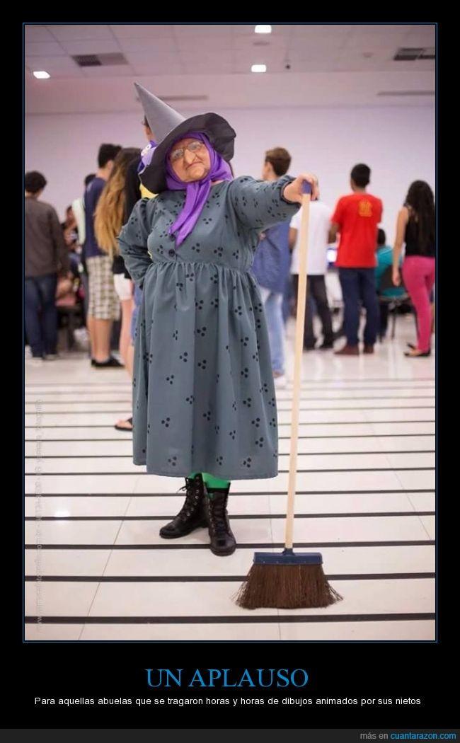 Abuela,bruixa,bruja,cosplay,disfraz,les tres bessones,Onilda