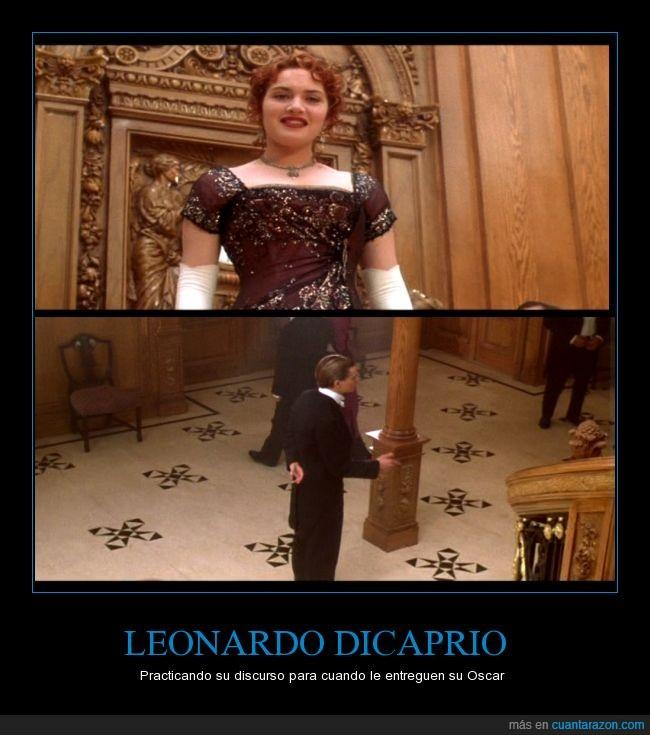 Discurso,El Renacido,Leonardo DiCaprio,Oscar,Oscars 2016,Titanic