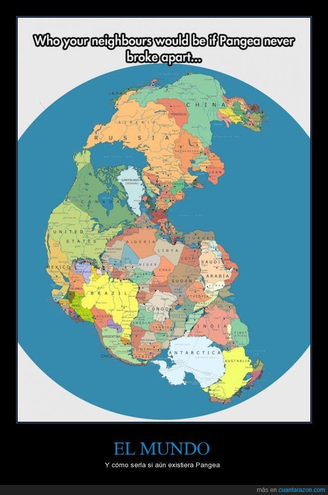 junto,mundo,paises,pangea,separar,tierra,unido