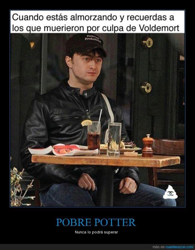 Daniel Radcliffe,harry potter,recordar,su cara dice muchas cosas,trauma,voldemort