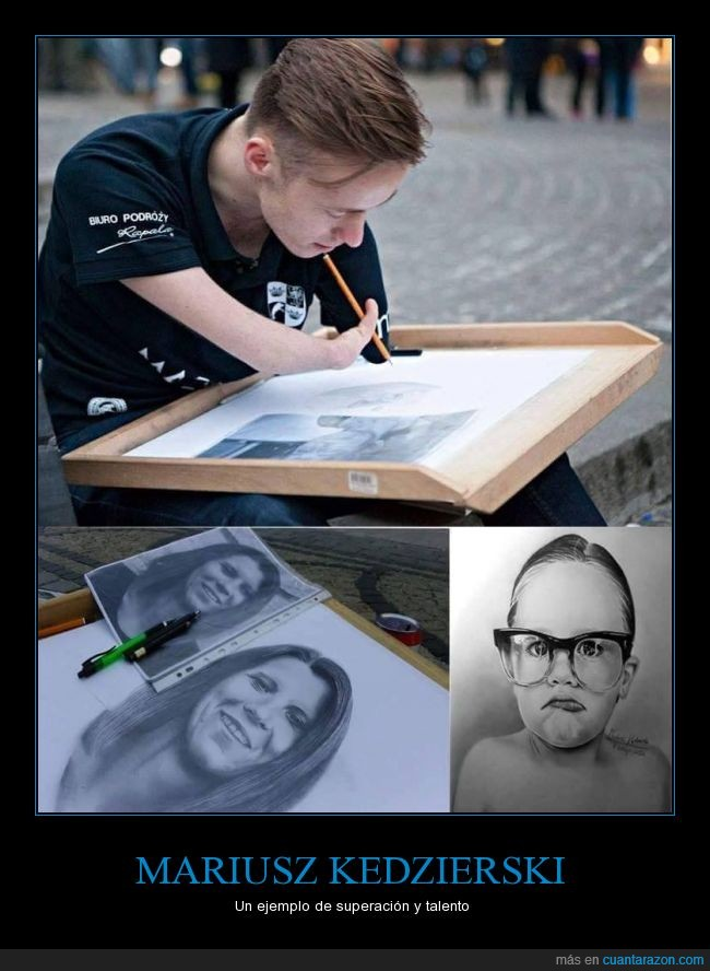 brazo,dibujo,malformación,mano,mariusz,MARIUSZ KEDZIERSKI,realista,superación
