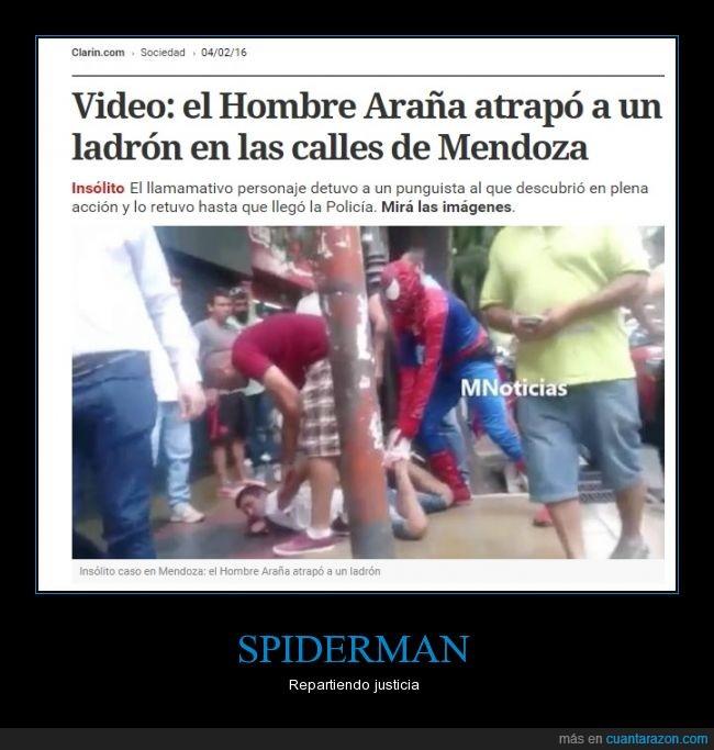 actualidad,argentina,justicia,ladrón,mendoza,spiderman