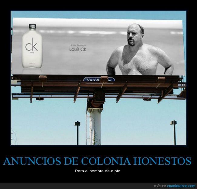 anuncio,colonia,fragancia,gordete,hombre normal,louis ck
