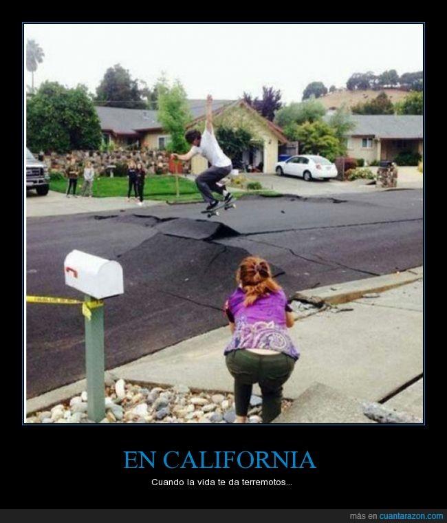 california,skate,tabla,terremotos