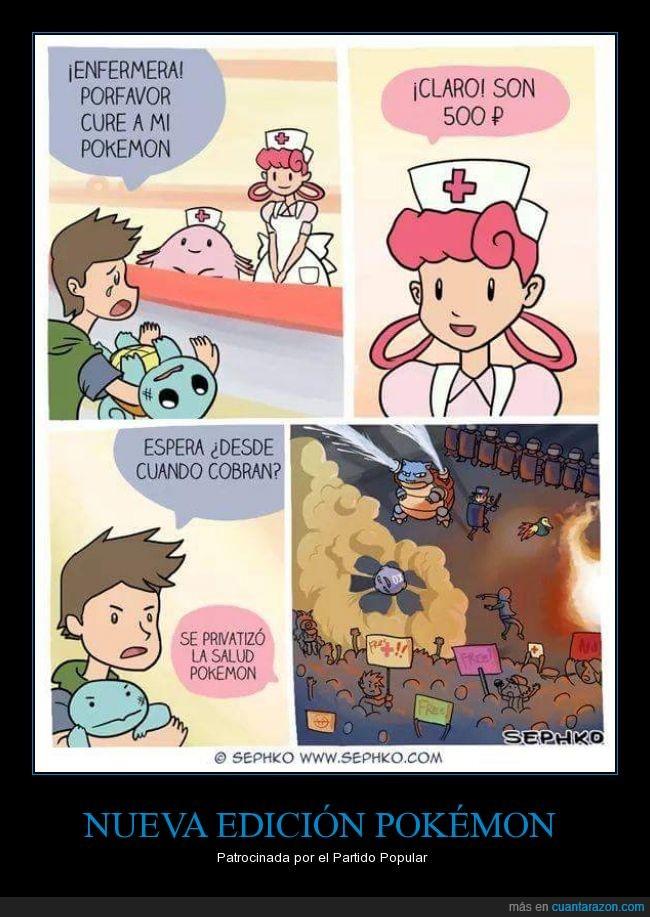 Pokemon,política,Pp,privatización,Rajoy,Zapatero no hizo nada malo