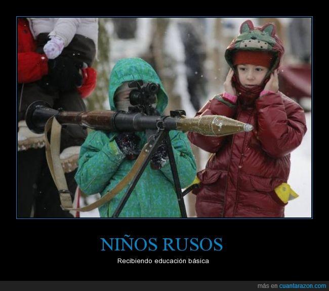 arma,armas,Bazooka,niños