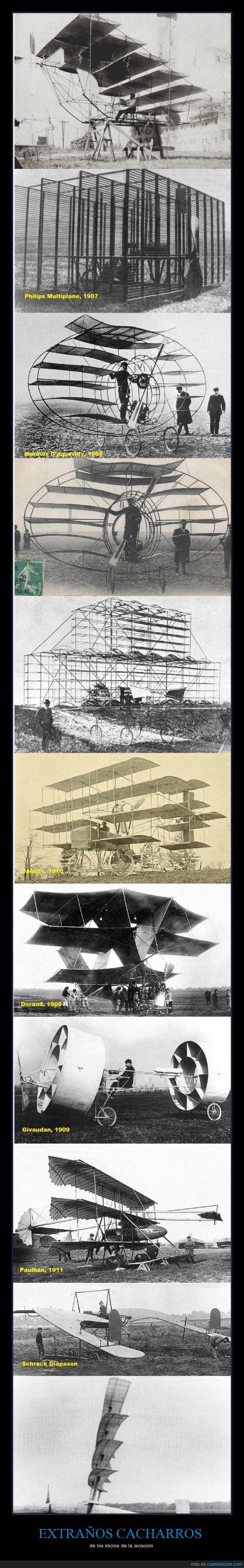 aviación,aviones,cacharro,intento,se estrellaban todos,vintage,volar