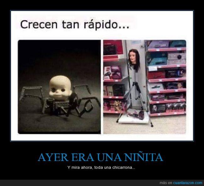 cabeza,crecer,maniquí,muñeca,Película,pelo,peluquería,Toy Story