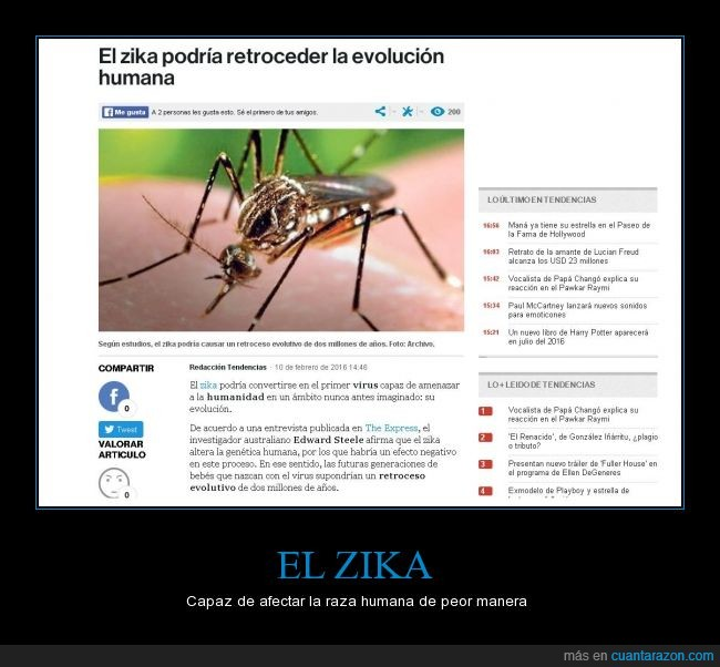evolución,mosquito,noticias,virus,zika