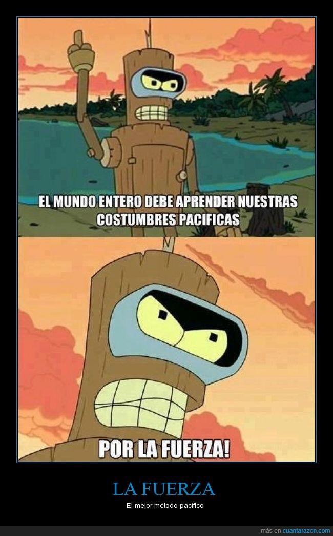 Bender,Futurama,Metodos