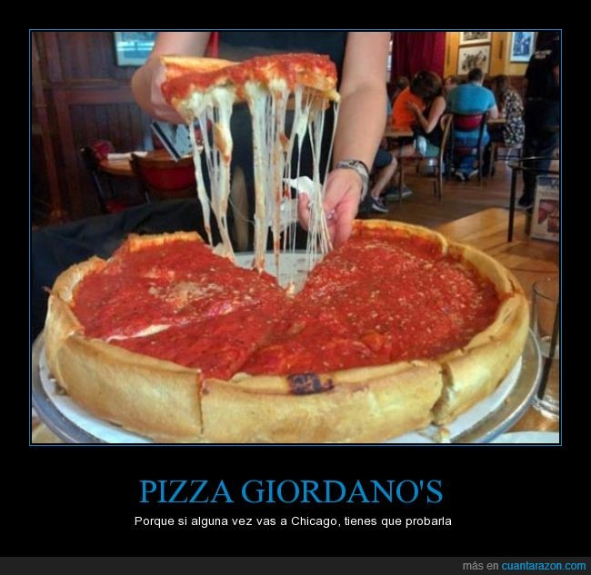 chicago,genial,gigante,giodano's,pizza,queso,tomate
