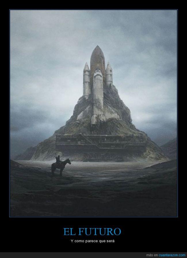 apocaliptico,cohete,desolacion,futuro,genial,nada,nasa,oscuro,terror,vacio