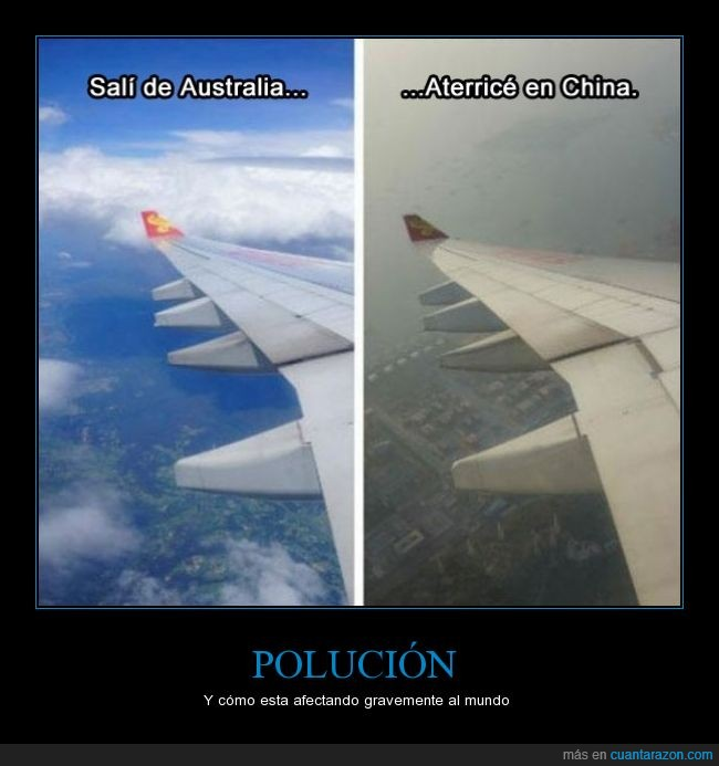 australia,avion,china,contaminación,contaminado,gris,oscuro,polucion,viajar