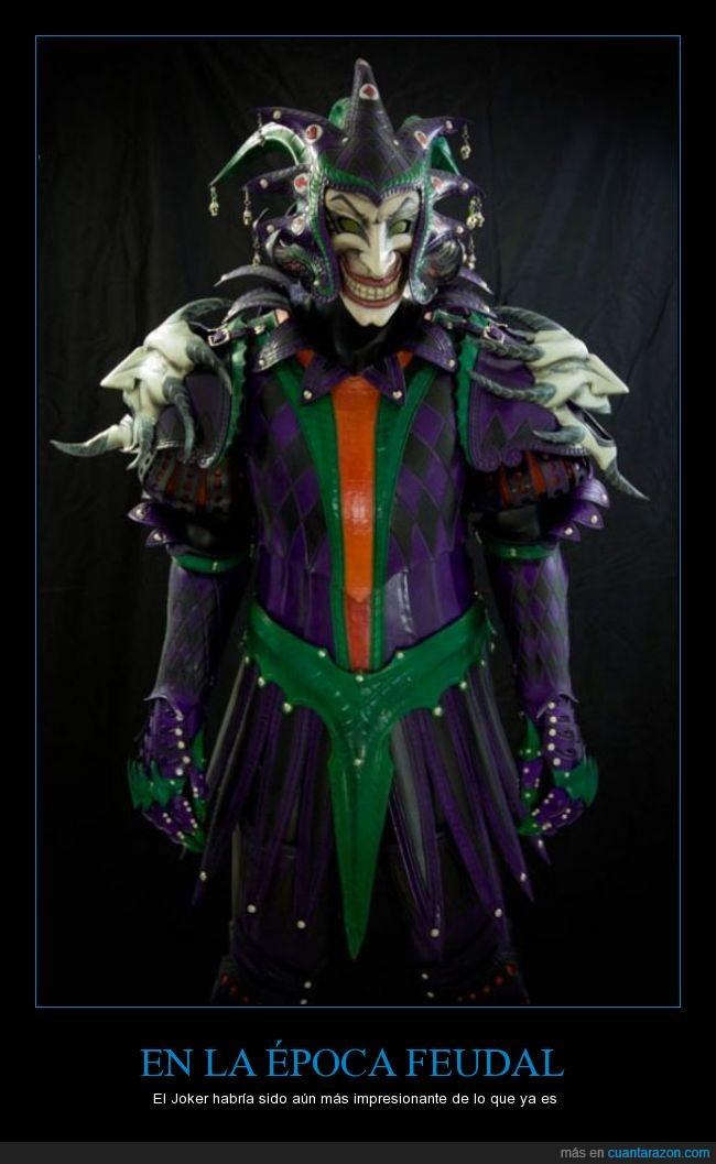 armadura,Batman,caballero,edad media,feudal,Joker,Medieval