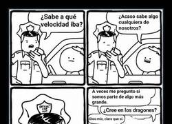 Enlace a Filosofando con la policía
