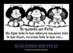 Enlace a Mafalda, como siempre genial