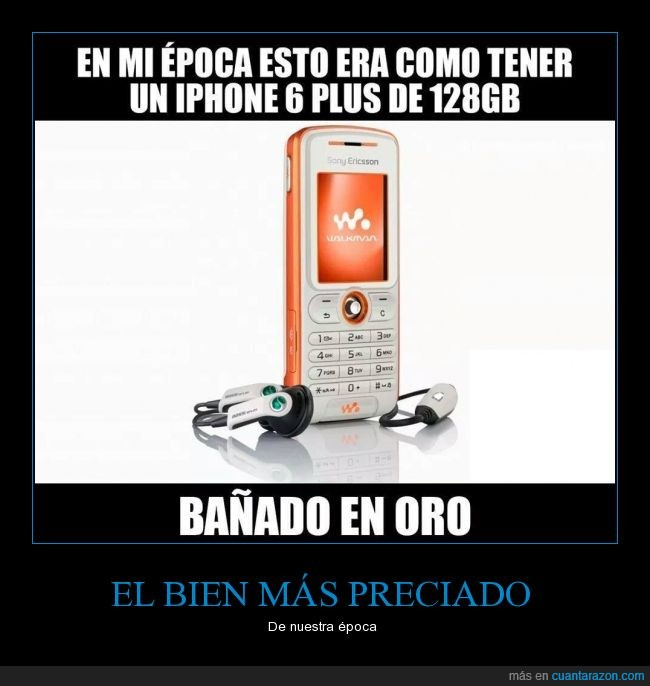 bañado,iphone,movil,oro,sony ericsson,walkman