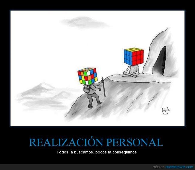 colore,Cubo,guru,montaña,orden conocer,organizar,puzzle,Rubik,sabio