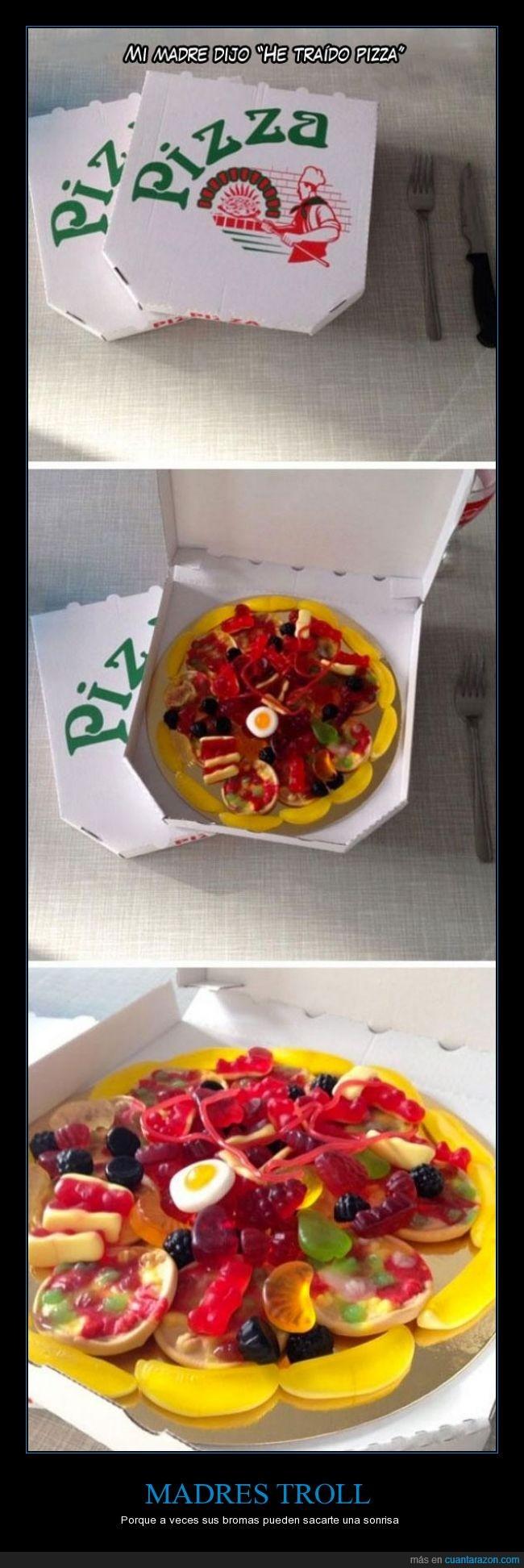broma,caja,dulces,genial,madre,no se cual es mejor,pizza